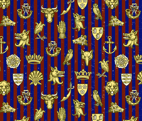 battle of st. albans (clifford) fabric by mossbadger on Spoonflower - custom fabric