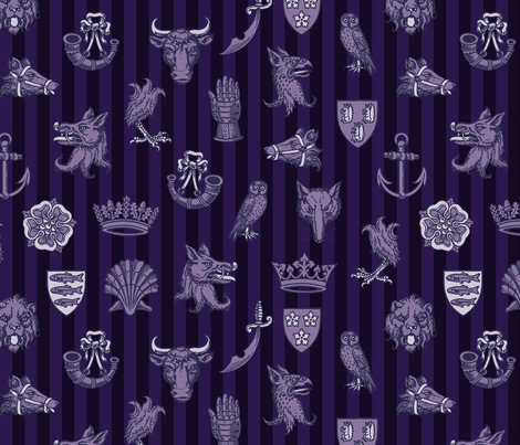 battle of st. albans (york) fabric by mossbadger on Spoonflower - custom fabric