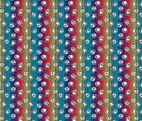 Disco Sheep fabric by beckarahn on Spoonflower - custom fabric