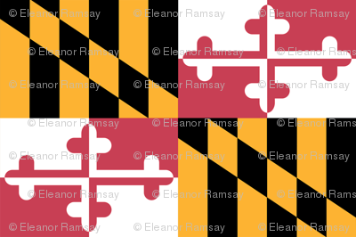 Small Maryland Flags - true color