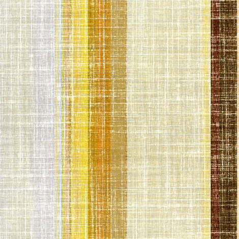 Linen Stripe in Earth tones fabric by joanmclemore on Spoonflower - custom fabric