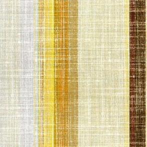 Linen Stripe in Earth tones