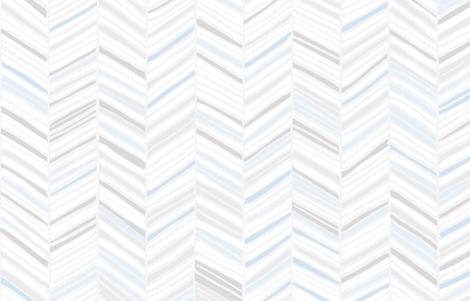 Herringbone Hues of Pastel Blue by Friztin fabric by friztin on Spoonflower - custom fabric