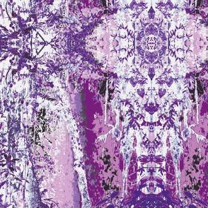 Mansion Pinks Lavender White & Black