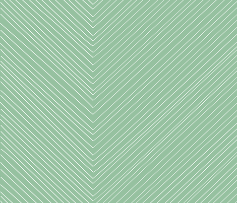Large Arrows in Mint by Friztin fabric by friztin on Spoonflower - custom fabric