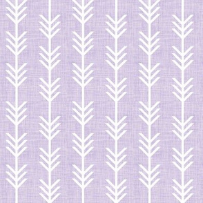 lilac linen arrow stripes