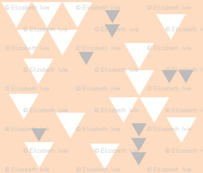 blush gray triangle fall