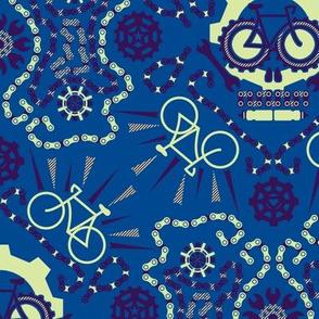 Dia De Los Racing Bicicletas