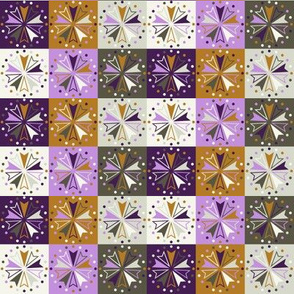 Circus Squares - Winter Crocus