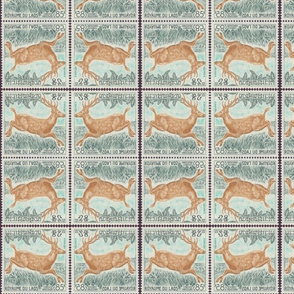 Deer Stamp