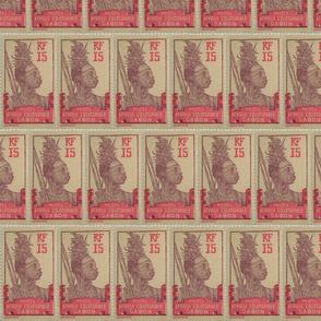 Gabonese Stamp