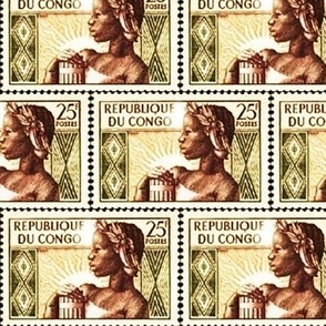Congolese Stamp