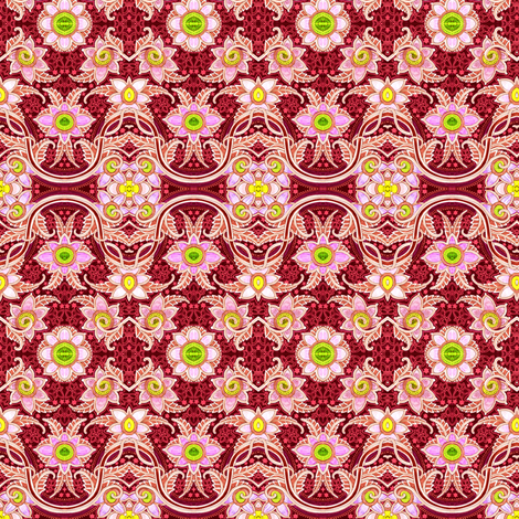 Caliente Gardens fabric by edsel2084 on Spoonflower - custom fabric