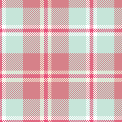 03015443 : tartan : whales fabric by sef on Spoonflower - custom fabric