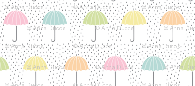 Rainbow of Umbrellas