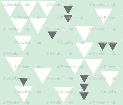 mint charcoal triangle fall