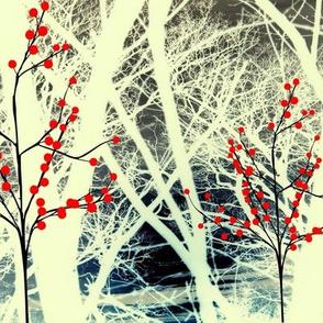AUTUMN KIMONO TREES
