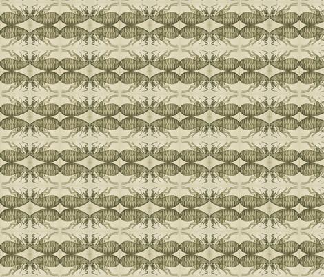 Micrographia Flea fabric by sksupple on Spoonflower - custom fabric