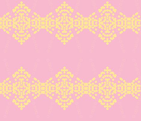 Ethiopia/ Pink fabric by menny on Spoonflower - custom fabric