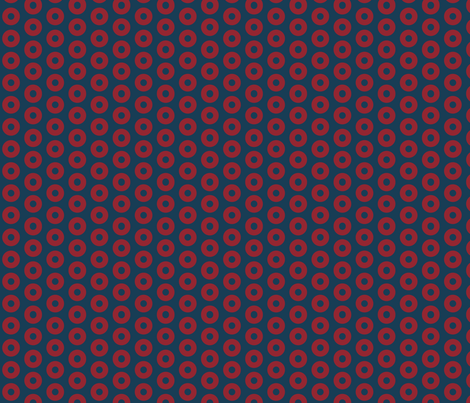 Fishman Donuts - Small Scale fabric by moonandsundries on Spoonflower - custom fabric