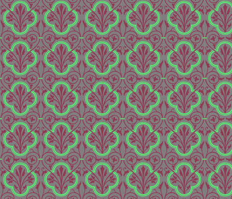 plantrepeat3 fabric by craftyscientists on Spoonflower - custom fabric