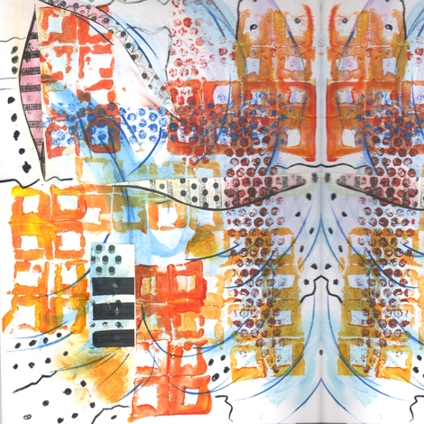 """""""San Diego"""" fabric by elizabethvitale on Spoonflower - custom fabric"""