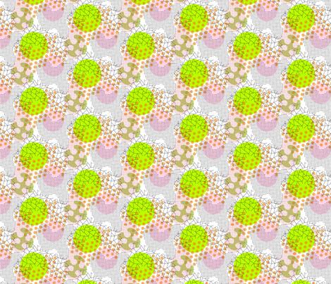 future floral fabric by darcibeth on Spoonflower - custom fabric