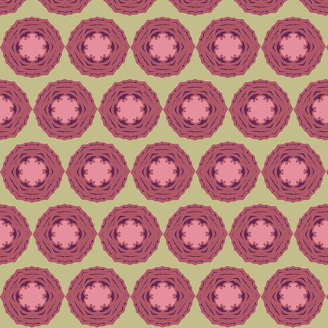 cabbagerosepink fabric by especiallycreativebroad on Spoonflower - custom fabric