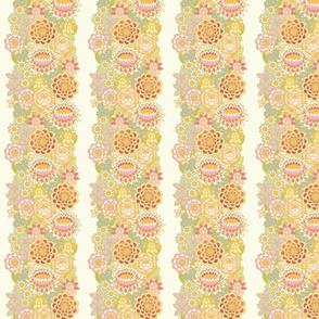 vertical floral pattern