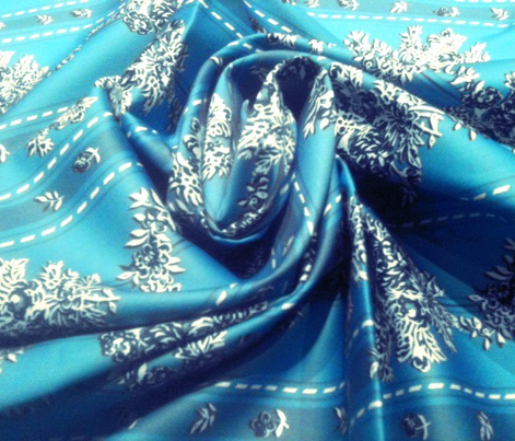 Phantom of the Opera Wishing dress fabric turquoise