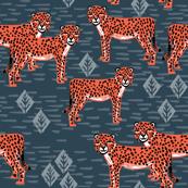 cheetah // safari tiger collection coordinate