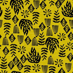 Safari Plants - Goldenrod by Andrea Lauren