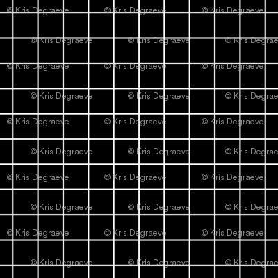 White On Black Medium Grid