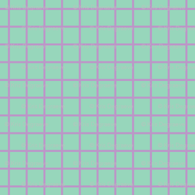 Violet On Mint Small