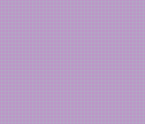 Mint On Violet Medium Grid fabric by technoplastique on Spoonflower - custom fabric