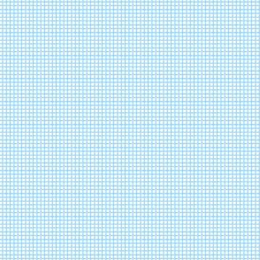 Envelope - Blue Grid