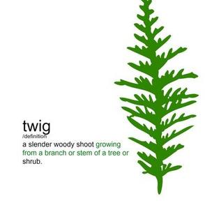 Twigs Mint Greent