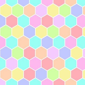 Random Hexagons