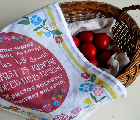 Pascha Basket Cover