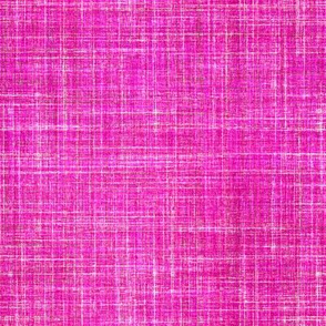 Linen in Fuschia pink
