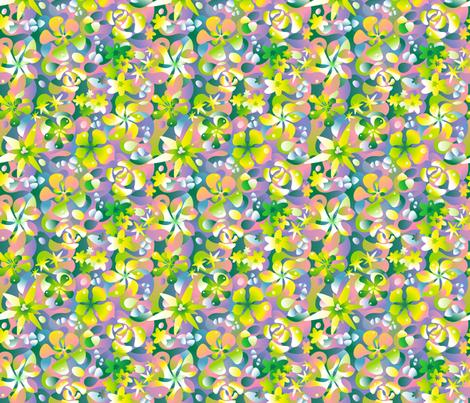 Succulence fabric by margodepaulis on Spoonflower - custom fabric
