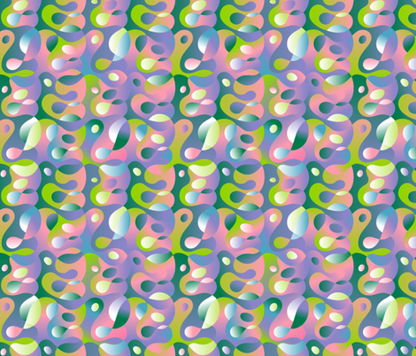 Leaky_Lava_Lamp fabric by margodepaulis on Spoonflower - custom fabric