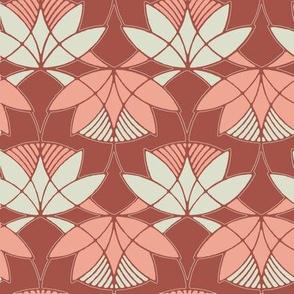 waterlily vintage pink