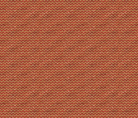 Sparkle Chevron- Small- Gold and Red fabric by cynthiafrenette on Spoonflower - custom fabric