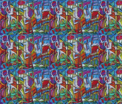 Super Slushy Cherries On Top fabric by diconnollyart on Spoonflower - custom fabric