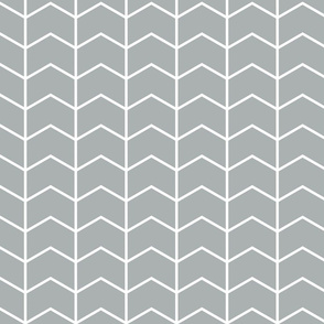 Chevron // grey