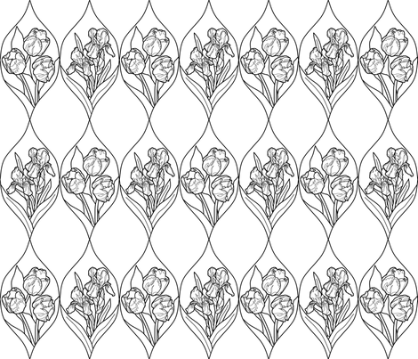 frame_mult_trans_24_inch_white_B fabric by khowardquilts on Spoonflower - custom fabric
