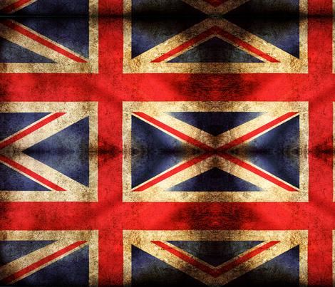 British_Flag fabric by rockduster on Spoonflower - custom fabric