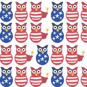 Patriotic Owls
