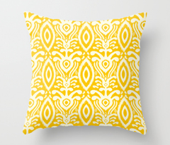 Ikat Rhythm in Goldenrod